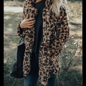 Impressions Leopard Coat